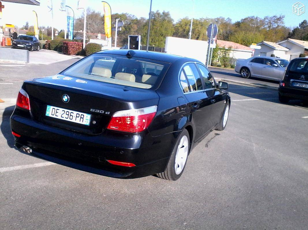 Vente bmw s rie 5 d 39 occasion lacanau 33 carrosserie for Garage bmw 33