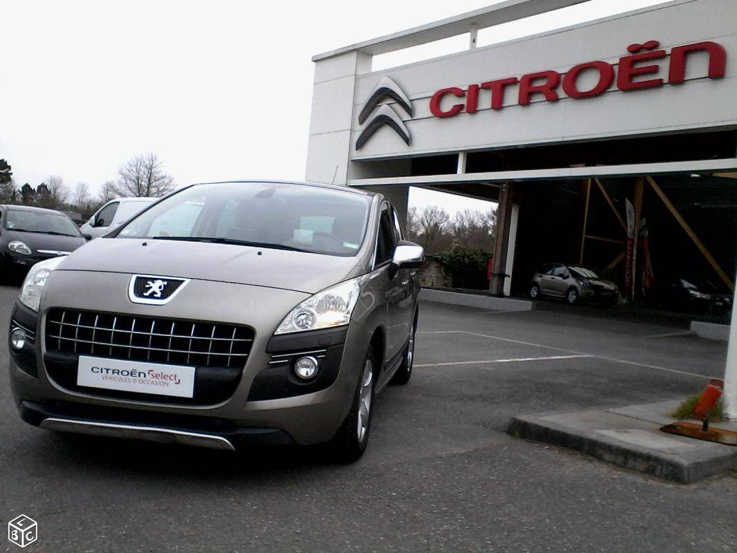 Vente peugeot 3008 lacanau carrosserie concession for Garage citroen bressuire occasion